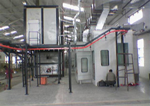 conveyorised liquid plant - Turnkey Paint Shop